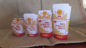 venta de envases para miel , papel encerado